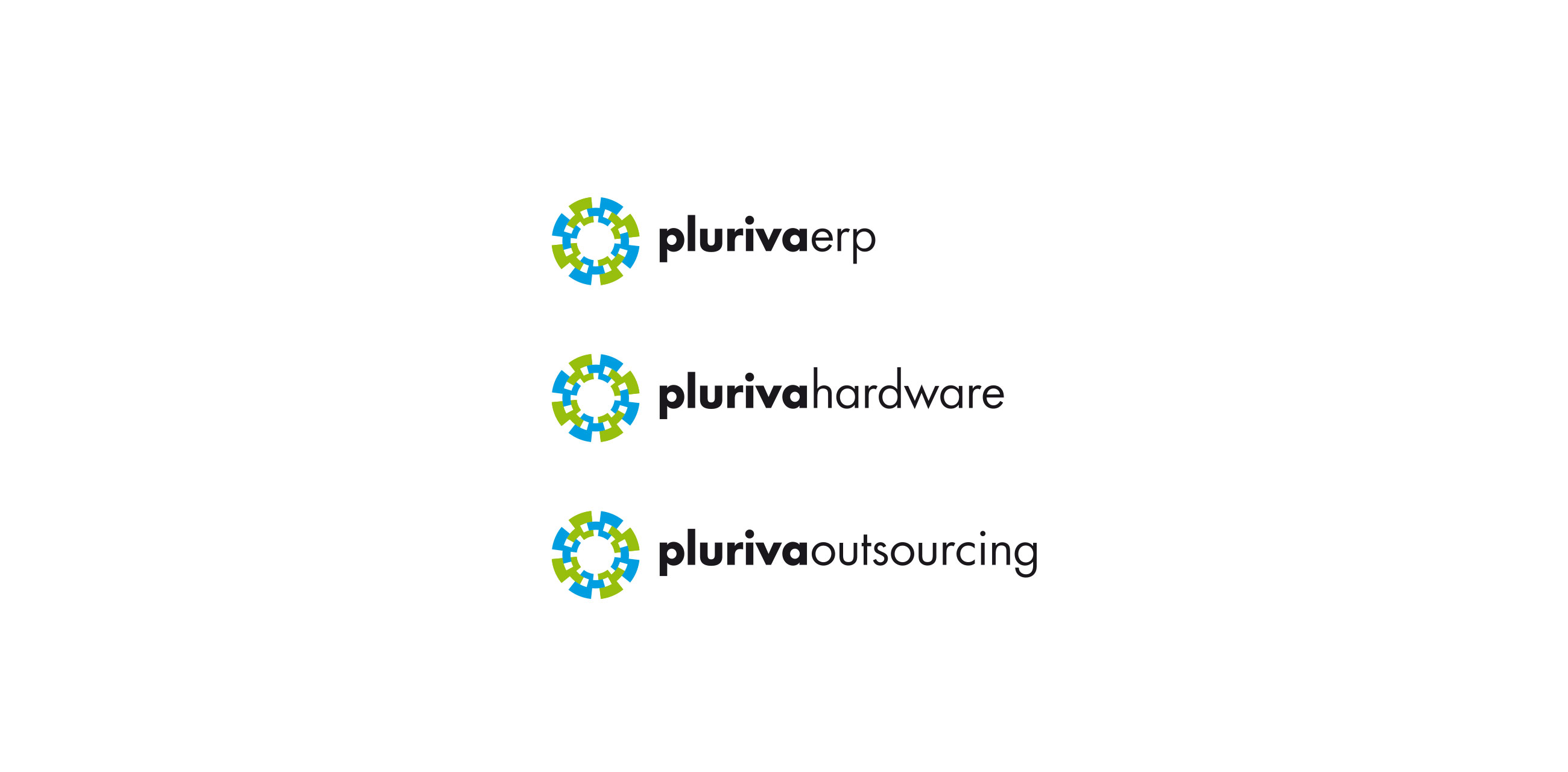 Pluriva brandient hence the visual identity displaying a symbol and a graphic language that are versatile modern and practical copyright brandient all rights reserved biocorpaavc